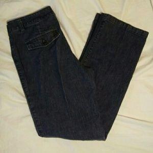 Dockers 6 Straight Leg Blue Jeans